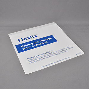 FlexRx™ Adherence Packaging Cover