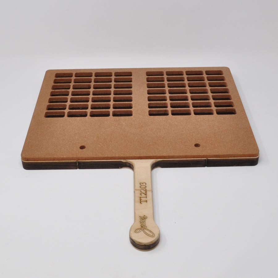 28-Cavity 2-Up Paddle Sealing Tray