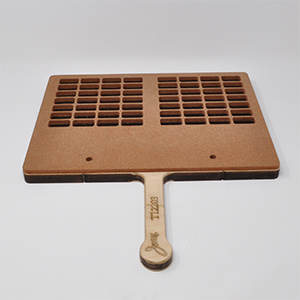 28-Cavity 2-Up Paddle Sealing Tray