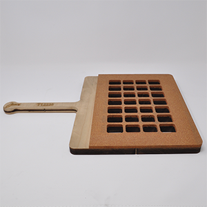 28-Cavity Qube Paddle Sealing Tray
