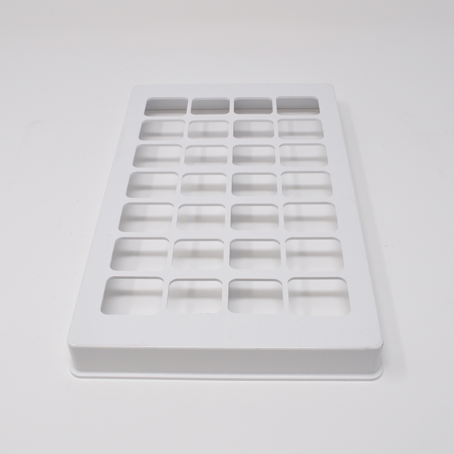 28-Cavity Qube Plastic Sealing Tray