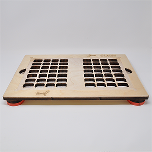28-Cavity 2-Up Qube-It Sealing Tray