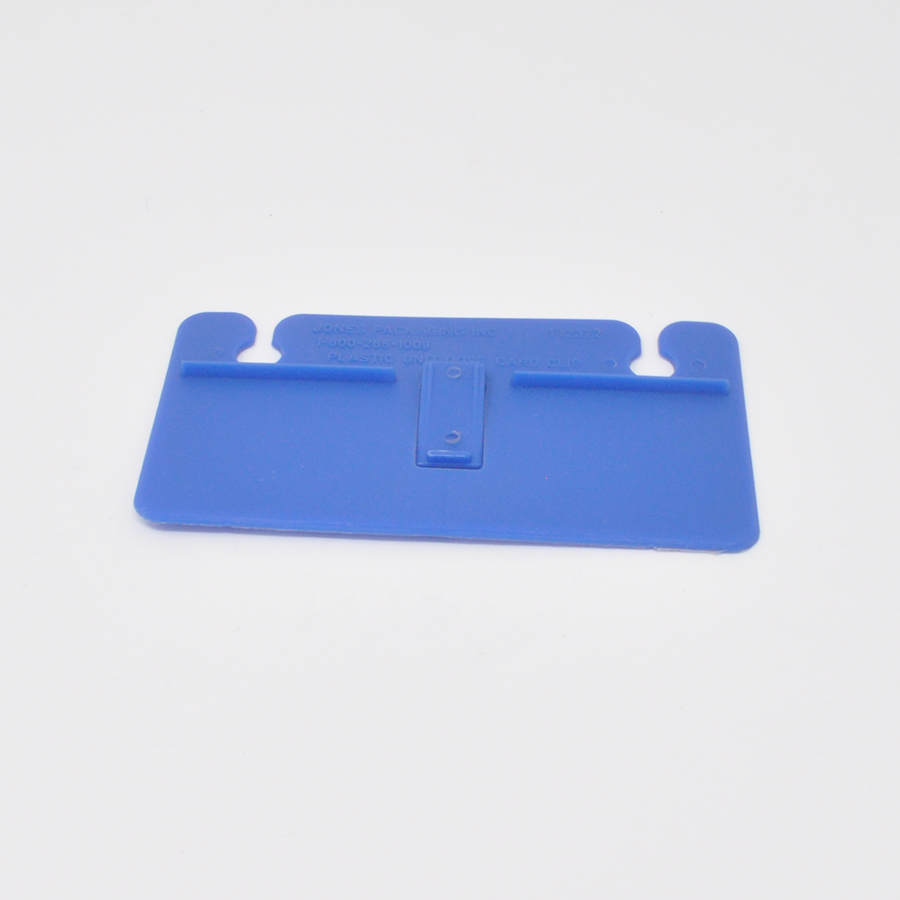 Unit-Dose Plastic Card Clip