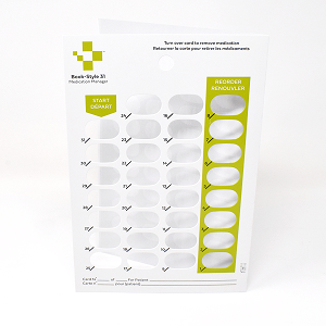 31-Day Book-Style Adherence Card-1PSA