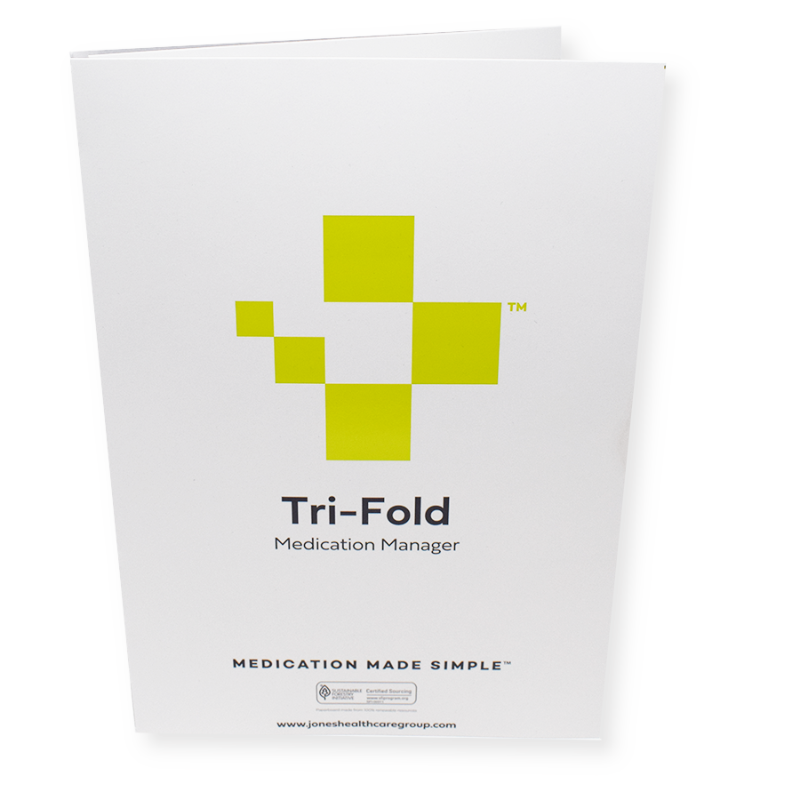 7-Day Tri-Fold Adherence Card