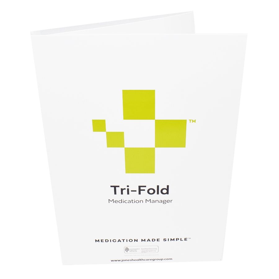 Bilingual 7-Day Tri-Fold Adherence Card