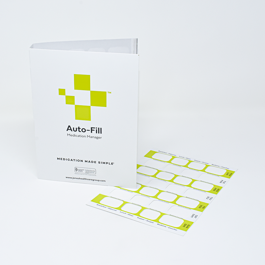 7-Day Auto-Fill Adherence Card