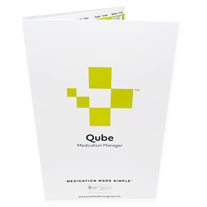 7-Day Qube Adherence Card