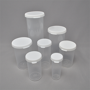 6dr Snap Cap White Closure and Clear Vial