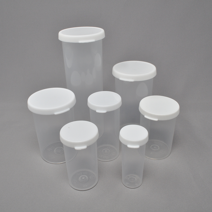 20dr Snap Cap White Closure and Clear Vial