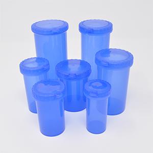 16dr Eureka Snap Safe Safety Blue Vial