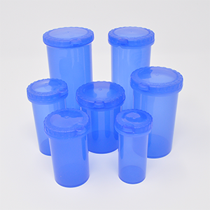 20dr Eureka Snap Safe Safety Blue Vial