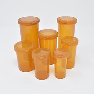 40dr Eureka Snap Safe Safety Amber Vial