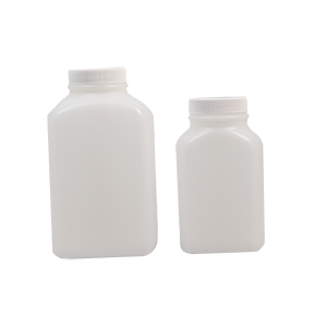 500cc HDPE White Bottle - Wide-Mouth