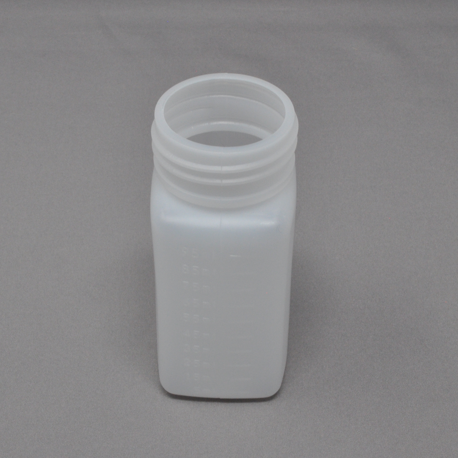 100ml HDPE White Bottle - Wide-Mouth