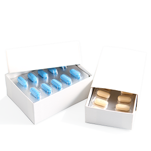 "3 x 2 x 1-1/4"" Drug Box Regal Telescope Carton"