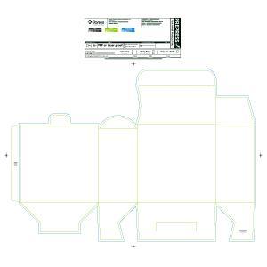 "6 x 3 x 6"" Strip Packaging Carton - Made To Order"