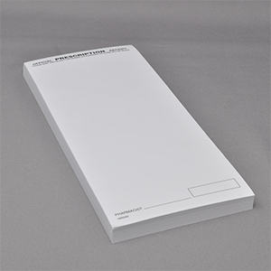 Blank Receipt Pad